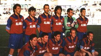 El once del ascenso en Jaén